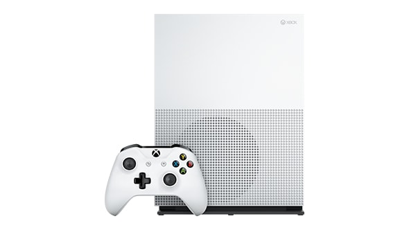 Xbox One S (1TB, White) + Gears of War 4