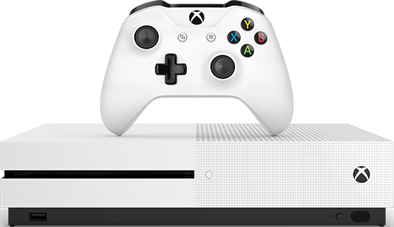 Xbox One S (500GB, White)
