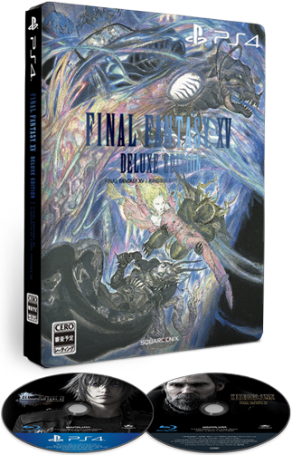 Final Fantasy XV (15) – Deluxe Edition
