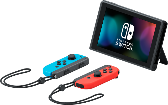 Switch (Neon Blue and Neon Red) + Mario Kart 8 Deluxe