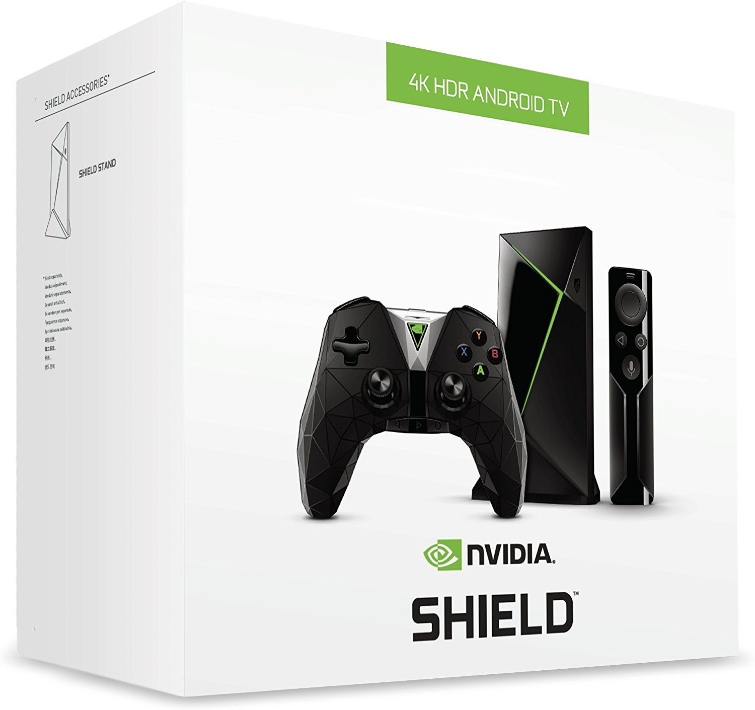 Shield (16GB, 4K HDR, Android TV, 2017) + Gamepad