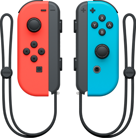 Joy-Con Pair (Neon Blue and Neon Red)