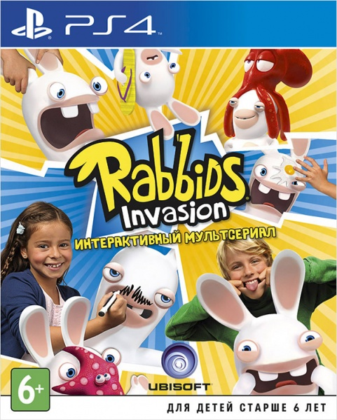 Rabbids Invasion (Только для PS Move)