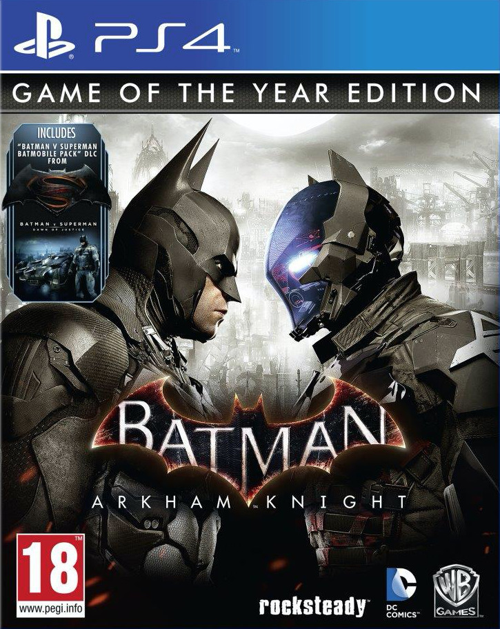 Batman: Arkham Knight (Рыцарь Аркхема) – GOTY (Game of the Year Edition)