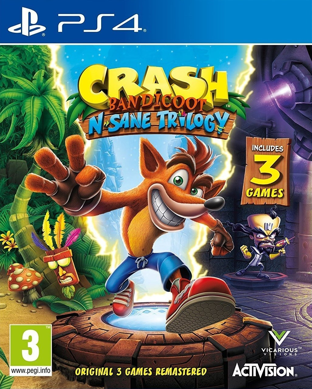 Crash Bandicoot N: Sane Trilogy
