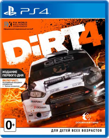 DiRT 4 – Day One Edition