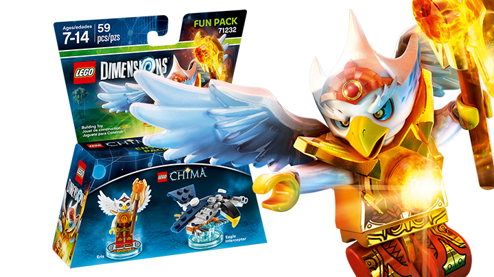 Fun Pack: Chima Eris
