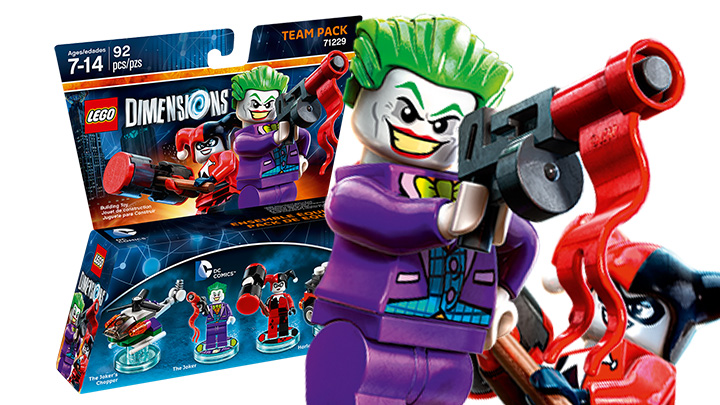 Team Pack: DC Comics Joker / Harley