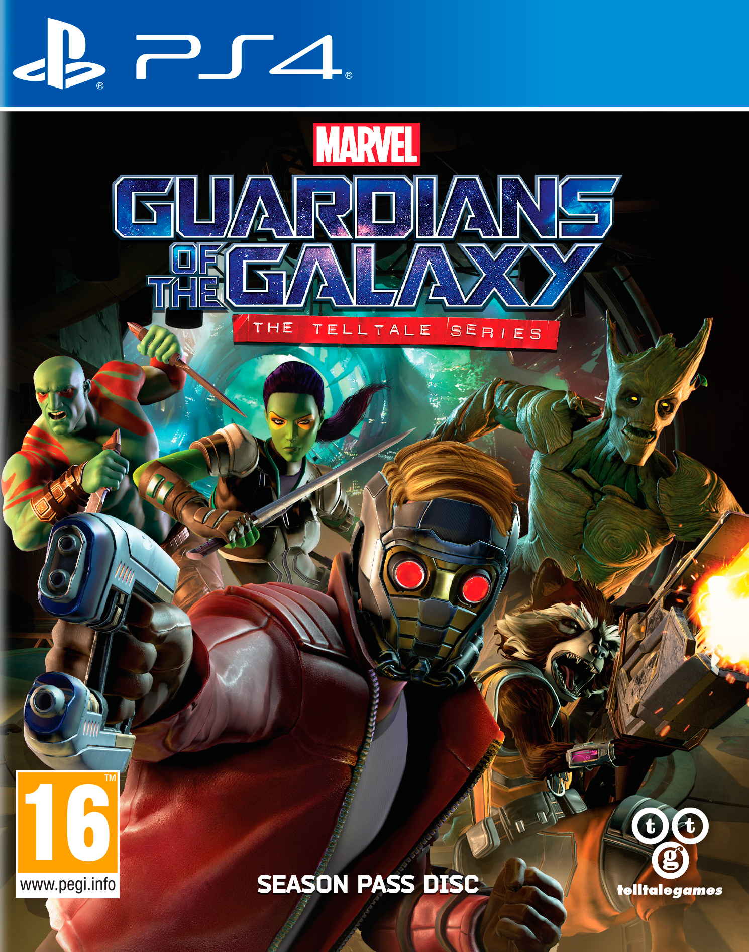 Marvel's Guardians of the Galaxy (Стражи галактики): The Telltale Series